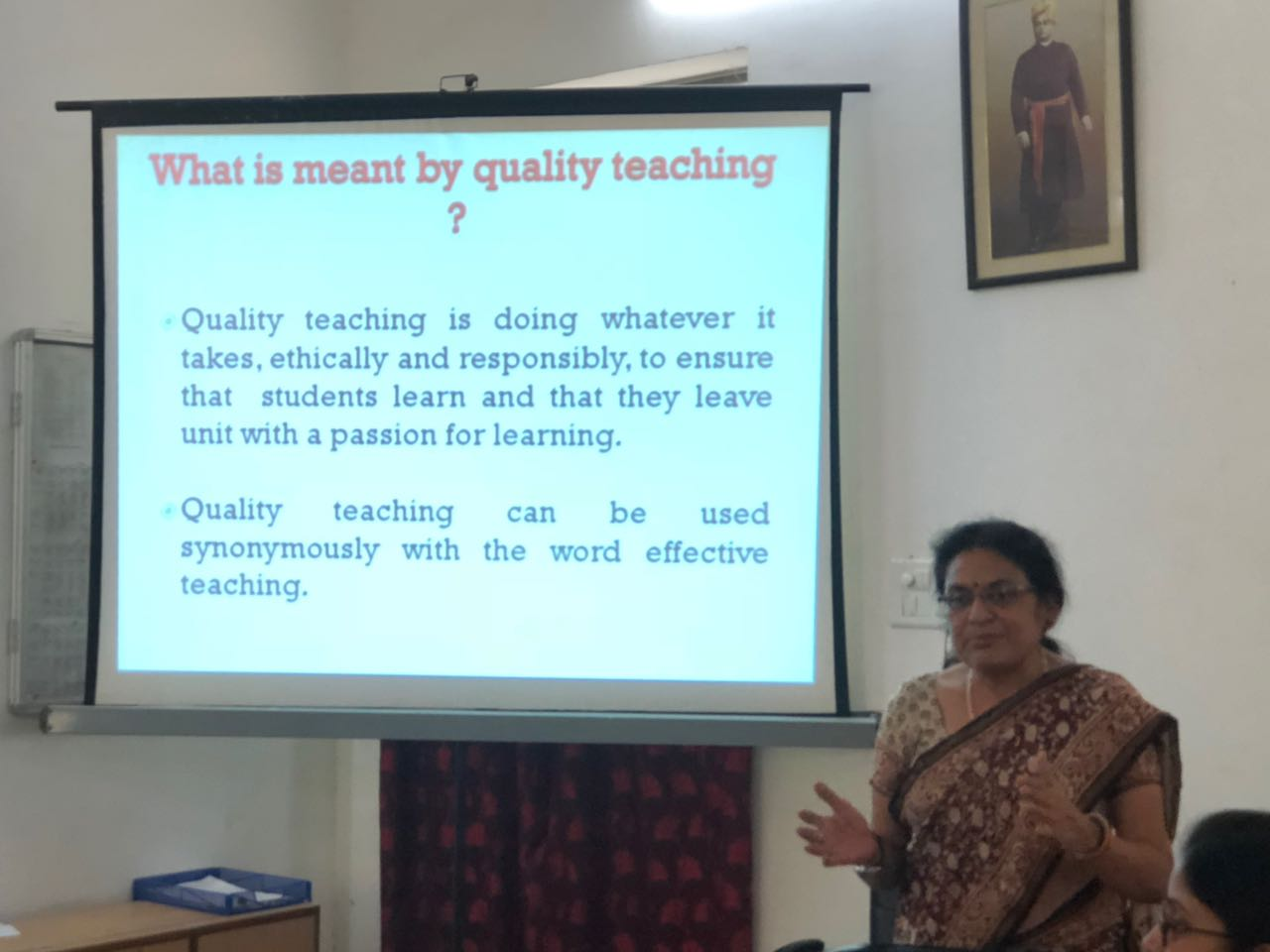 Quality Teaching in Higher Education